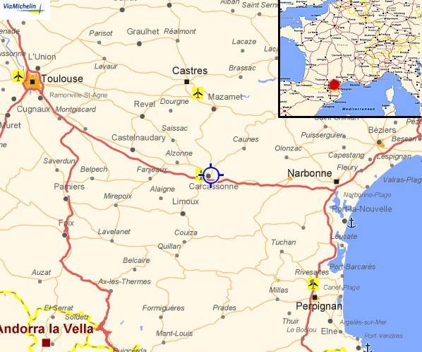 Carcassonne Karte